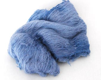 Mulberry Silk Lap French Blue - 29 grams