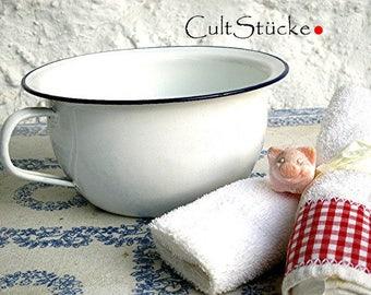 Vintage purist Pot Pot enamel