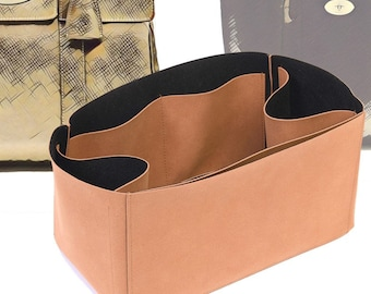 Regular Style Nubuck Leather Handbag Organizer for Bayswater and Bayswater Tote Bags