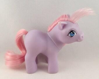 My Little Pony Mon Petit Poney MLP G1 Baby Lavender Ember 1984