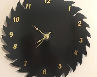 "10"" Sawblade Wall Clock"