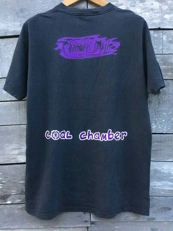 shirt promo rare Vintage blue coal chamber grape by 90s 0F48qO