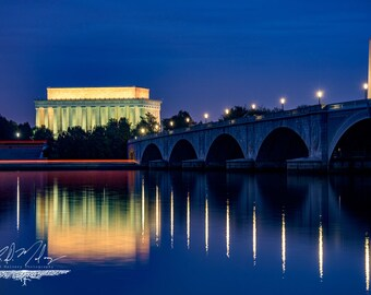 Potomac River Canvas Wrap