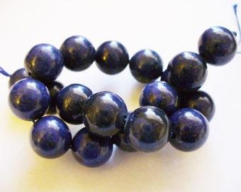 Lapis Beads Gemstone Round 10MM