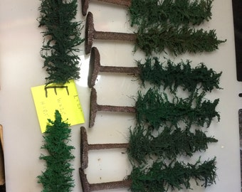 10x Pine tree forest models