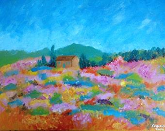 "Acrylic Painting ""Kemp Meadow"" | 16"" x 20"" Signed Original"