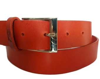Coral leather belt womens belt designer belts for women belt for dress ladies belt red belt red leather belt leather belt women waist belt