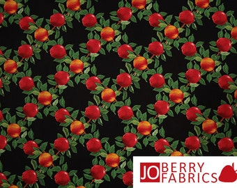 Apple Fabric, Apples to Apples by Chris Hinrichs for Blank Quilting, Quilt or Craft Fabric, Fabric by the Yard