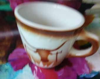 Vintage Syracuse China/ Longhorn Steer Mug