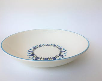 """Vintage 1950's/60's Swiss Chalet by Stetson Marcrest 10"""" round vegetable bowl"""