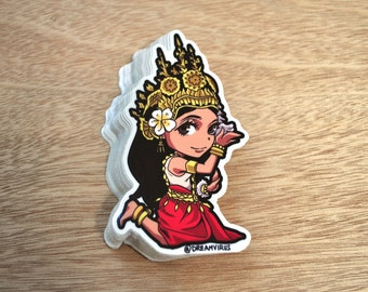 Apsara (Cambodian Dancer)