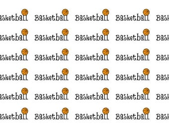 Basketball Wordy Icons WI0038