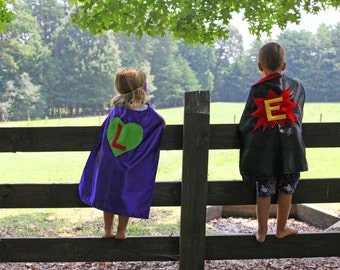 CAPES FOR KIDS - Kids Masks - Superhero Capes Personalized -  Superhero Mask - Superhero Cape Favors - Birthday Party Capes - Ships Quickly