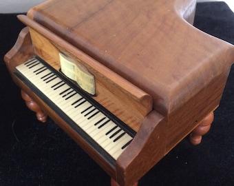 Reuge Swiss musical Grand Piano