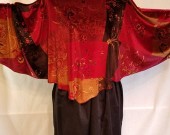 Ladies Velvet Poncho