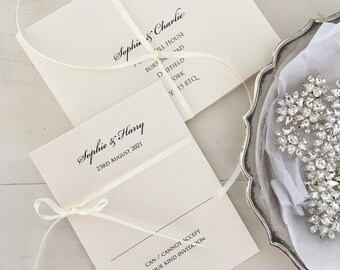 Reply Card, RSVP Cards, Wedding Reply Cards With Printed Envelopes