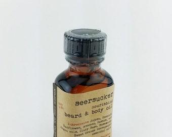 Seersucker Beard & Body Oil