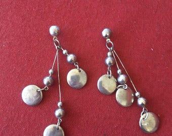 Vintage dangle earrings! Statement earrings, vintage earrings from the 90s, SHIPS IMMEDIATELY from USA!
