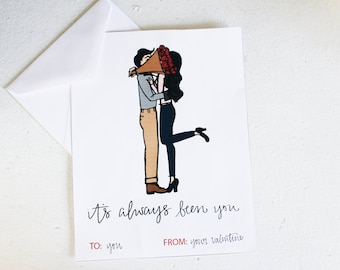 It's Always Been You Printable Valentine's Day Card