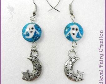 """Earrings """"Halloween night"""""""