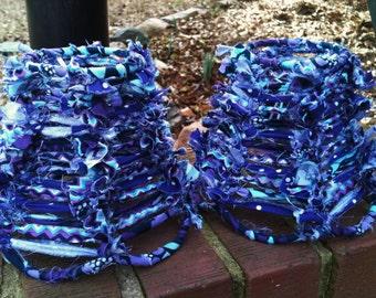 Pretty In Purple MINI lampshades-set of 2