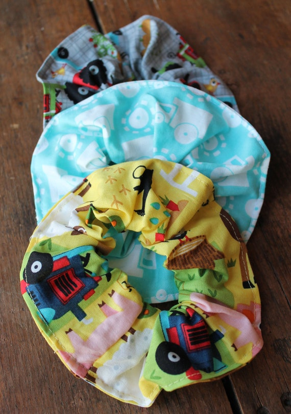 Farm Hair Scrunchies SET