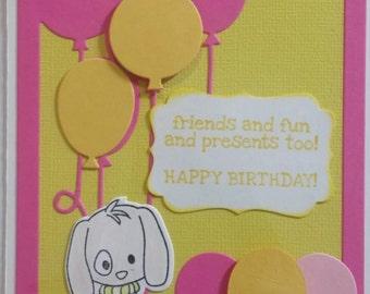Friends n Fun Birthday Card