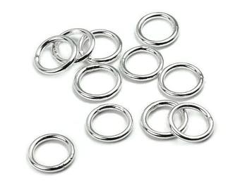 A soldered 5.8x0.8 AC0122 PK343 mm 925 Silver ring