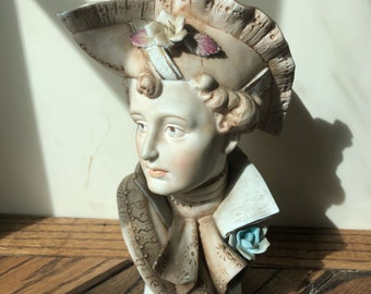 Vintage Bust Wales Made in Japan