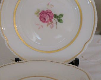 6 Castleton China Bread  /Dessert Plate / Dolly Madison / 6 inches