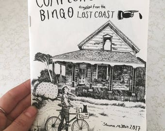 Comptche Bingo-Drawings from the Lost Coast by Shawnee Miller 2017