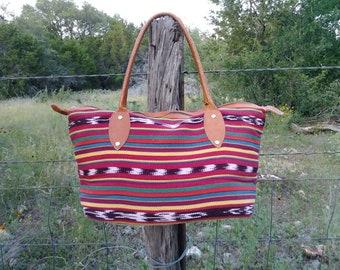 Handmade Guatemalan Bag Textile Purse