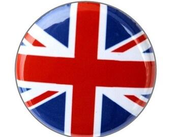 British Flag - Pinback Button Badge 1 inch