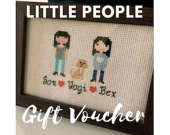 Gift Voucher - Printable Voucher - Little People Design