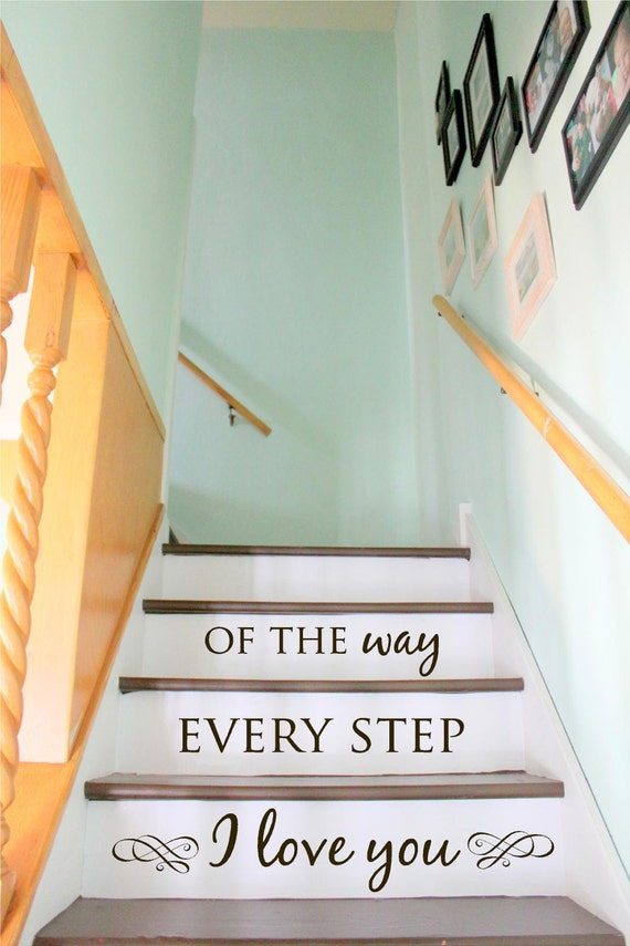 Items Similar To Stair Decal Staircase Ideas Stairway