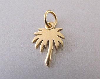 Palm Tree Charm - Gold Palm Tree - Silver Palm Tree - Palm Tree Jewelry