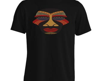 African masks ethnic Men's T-Shirt i794m
