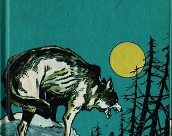 White Fang + Jack London + Fred Carrillo + 1977 + Vintage Kids Book