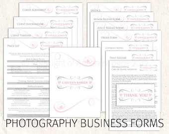 Photography business forms photography pricing template photography business forms photography pricing template contract price list template damask 13 psd files supplied accmission Gallery