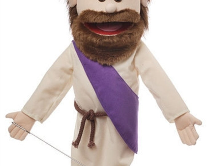 """New 25"""" JESUS PUPPET: Full Body Professional Puppet for Puppet Ministry & Church"""