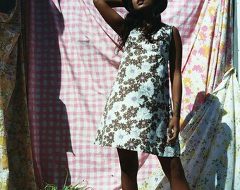Floral Cotton Day Dress