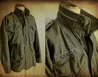 FINAL SALE --- Vintage 1960s M-65 US Army Field Jacket, 8th Army