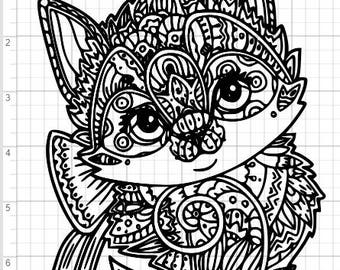 98+ Free Cat Mandala Svg Files – SVG,PNG,DXF,EPS include