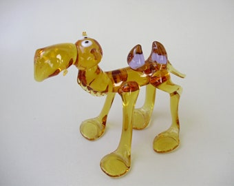 Italian MURANO GLASS animal figurine,camell