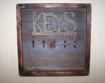 Barn Wood Key Holder