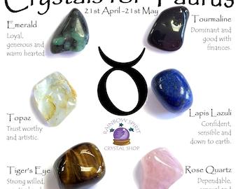 Taurus Birthstones Crystal Set