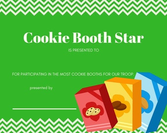 Cookie Award Certificates LBB