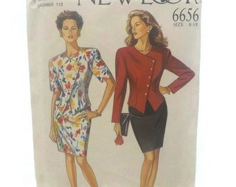 Simplicity New Look 6656 Top and Skirt UNCUT