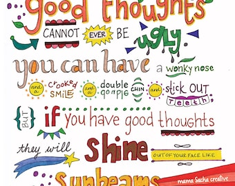 Good Thoughts print
