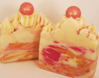 Strawberries and Champagne Artisanal Soap